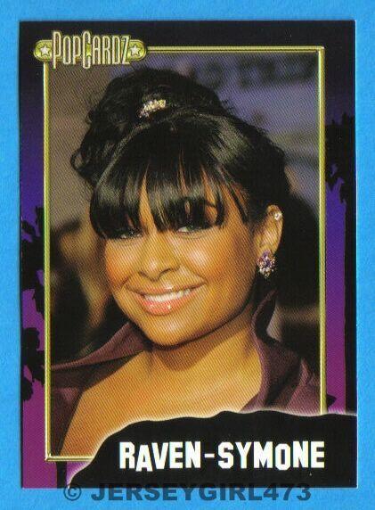 Raven-Symone 2008 PopCardz Celebrity Card ~ The Cosby Show