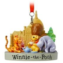 Disney World Epcot United Kingdom Pavilion Winnie the Pooh Figure Orname... - $34.00