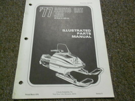 1977 Arctic Cat Jag Illustrated Service Parts Catalog Manual FACTORY OEM - $24.69