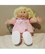Vintage 1982 Caleco Cabbage Patch Kids Blonde Pigtail Yarn Hair Blue Eye... - $48.45