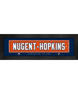 Ryan Nugent-Hopkins Edmonton Oilers Player Signature Stitched Jersey Fra... - $39.95