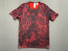 Spain Pre match Jersey 2020 Soccer Football Adidas Size M FI6270 - $18.50