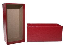 Guardhouse Single Row Crown - Red Coin Storage Box - 4.25 x 2.63 x 2.55  image 3