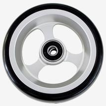"""4 x 1 1/2"""" Wheelchair Aluminum Caster Wheels (Pair) - $78.50"""