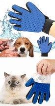 Silicone Cat pet Finger Brush Glove For Dog Massage Grooming Cleaning Su... - $9.85