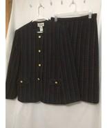 Skirt Jacket Suit sz 12 Heury Lee  - $78.21