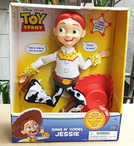 Disney Toy Story Sing N' Yodel Jessie Yodeling Cowgirl Pull String Toy - $55.00
