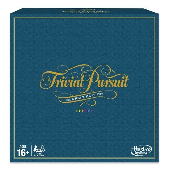 Primary image for Trivial Pursuit Game Classic Edition Hasbro 2400 Trivia Questions Newest Release