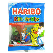 Haribo Kindermix gummies -75g- Without synthetic Coloring -Made in Nethe... - $3.42