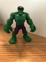 The Hulk Hasbro Marvel Super Hero Smashers Action Figure 2014 Rare - $14.80