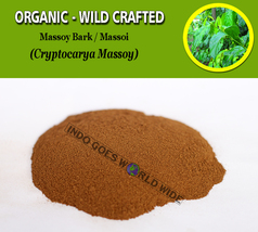 POWDER Massoy Bark Massoi Cryptocarya Massoy Organic Wild Crafted Herbs - $8.10+