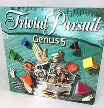 Trivial Pursuit Genus 5 Board Game 2000 Hasbro Question Set Family Fun T... - $16.60