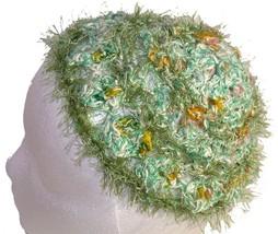 Greeny Beanie: Fuzzy Crochet Beanie Hat - €10,59 EUR