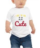 I Know I'm Cute . Baby Jersey Short Sleeve Soft & Light Cotton , Stylish... - $15.59