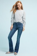 New Anthropologie Striped Poplin Blouse by Sunday in Brooklyn  X-SMALL  $88 - $45.54