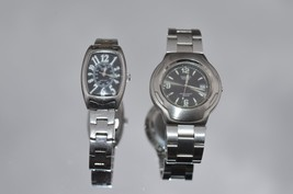 Casio Edifice EF-104 & Casio LTP 1208D Mens quartz watches Both run 1 Ne... - $18.47 CAD