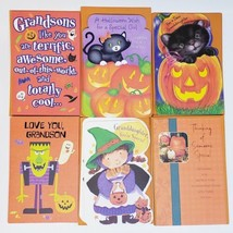42 Halloween American Greetings Cards For Grandson Granddaughter NEW w E... - $34.54
