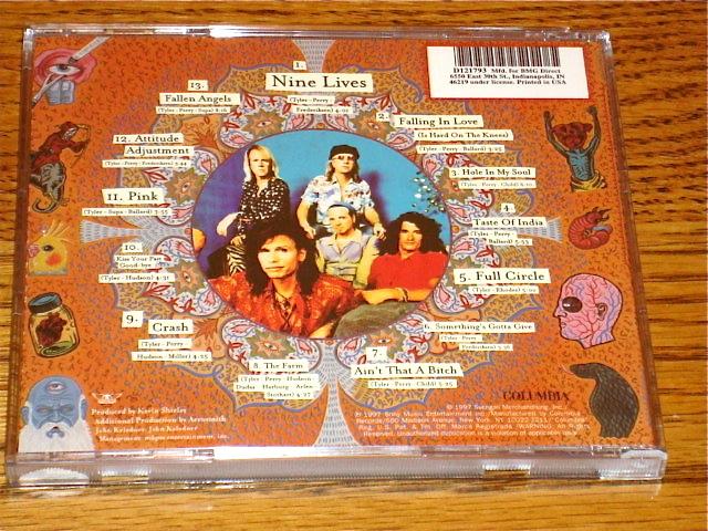 AEROSMITH NINE LIVES CD