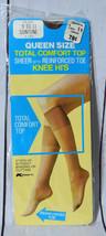 Kmart Nude/Suntone Sheer Reinforced Toe Knee High Size 9-11 Stockings Vi... - $19.79