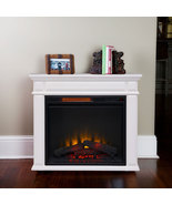 Caiden White Infrared Electric Fireplace Heater FREE SHIPPING!!!!! - $495.00
