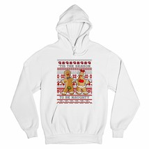 Tis the Season to Be Naughty Sweatshirt Ugly Sweater Gingerbread Man Hoodie - $27.07+
