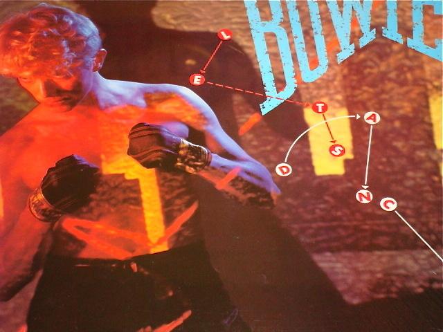 DAVID BOWIE LET'S DANCE ORIGINAL LP STILL IN SHRINK