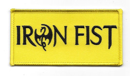 Marvel Comics Iron Fist TV Series Name Logo Embroidered Patch, NEW UNUSED - $7.84