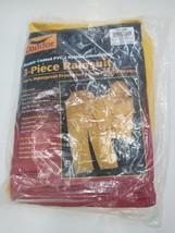 Condor 3 piece Rainsuit Rain Jacket Pants 2XL XXL 5T209 - $31.69