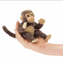 Folkmanis Mini Monkey Finger Puppet - $13.90