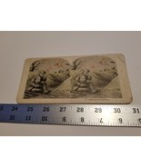 Home Treasure #11 Getting His Rations Stereoview Card Military Troops Ea... - $23.74