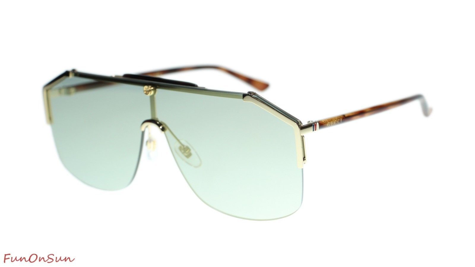 62878fec76 57. 57. Previous. NEW Gucci Sunglasses GG0291S 005 Havana Gold Bronze  Mirror Lens 99mm Authentic