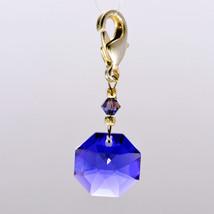 Crystal Octagon Zipper Pull image 4