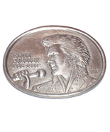 Elvis 1st Edition Commemorative Memorial Belt Buckle - $148.49