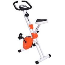 "45"" Folding Adjustable Resistance Magnetic Cardio Exercise Bike Burn Fat... - $131.29"
