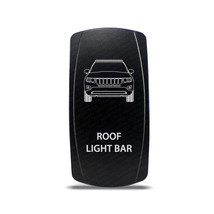 CH4X4 Rocker Switch Jeep Grand Cherokee WK1 Roof Light Bar Symbol - Whit... - $16.44