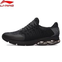 Ning LiNing Men Anti Cushion Wearable Li Running BUBBLE Shoes ARC Sport Slippery H7FWqa
