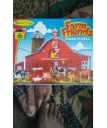 Melissa and Doug Farm Friends 32 pc Floor Puzzle , New, Free shipping  - $18.18