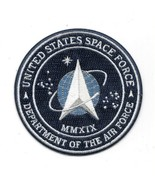 United States Space Force Department of the Air Force Logo Embroidered P... - $7.84