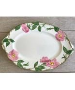 """Franciscan Desert Rose Oval Platter Serving Plate 12.5"""" Backstamp USA - $20.78"""