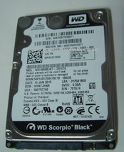 NEW 160GB SATA 2.5 inch 9.5mm 7200RPM Hard Drive WD WD1600BJKT Free USA Shipping