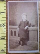 CDV Carte De Viste Photo Cute Girl St. Louis! c.1859-80 - $3.20