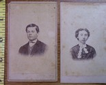 Cdv  8 lot of 2 man woman  1 thumb155 crop