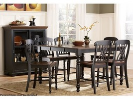 Ohana 5 Piece Counter Height Table Set by Homelegance in 2 Tone Antique ... - $1,200.19