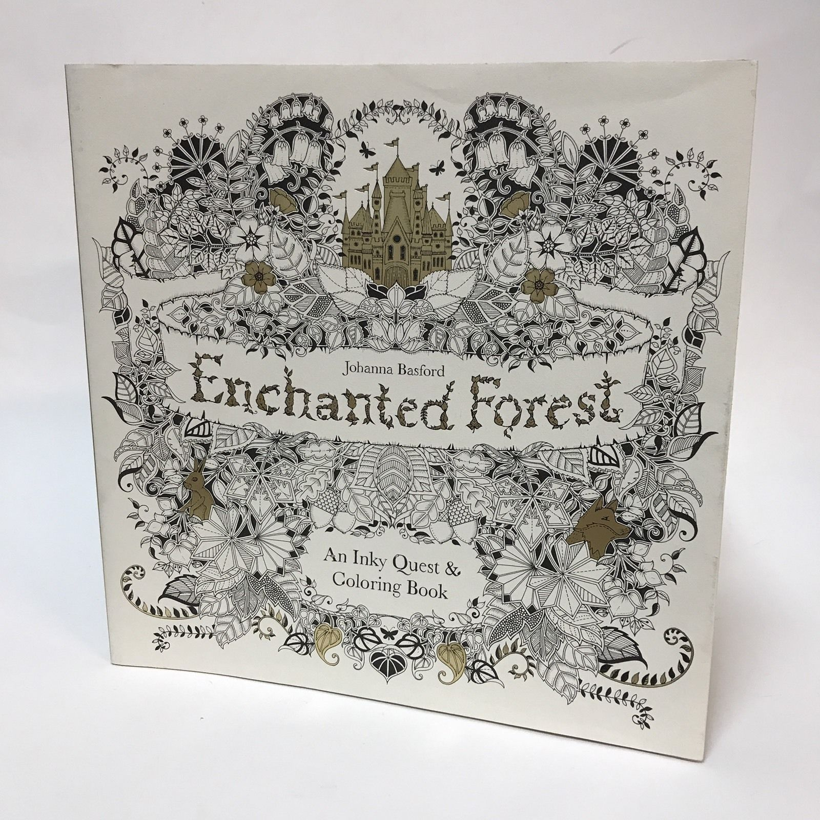 Enchanted Forest An Inky Quest Coloring Book By Johanna Basford 2015 Paperback