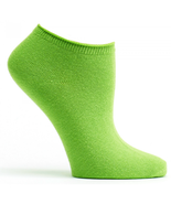 Anis Green Ozone No Show Socks Solids New Women's Size 9-11 Colorful Fas... - $8.95