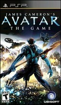 James Cameron's Avatar: The Game PSP UMD Disc - Complete in Box Fully T... - $19.99