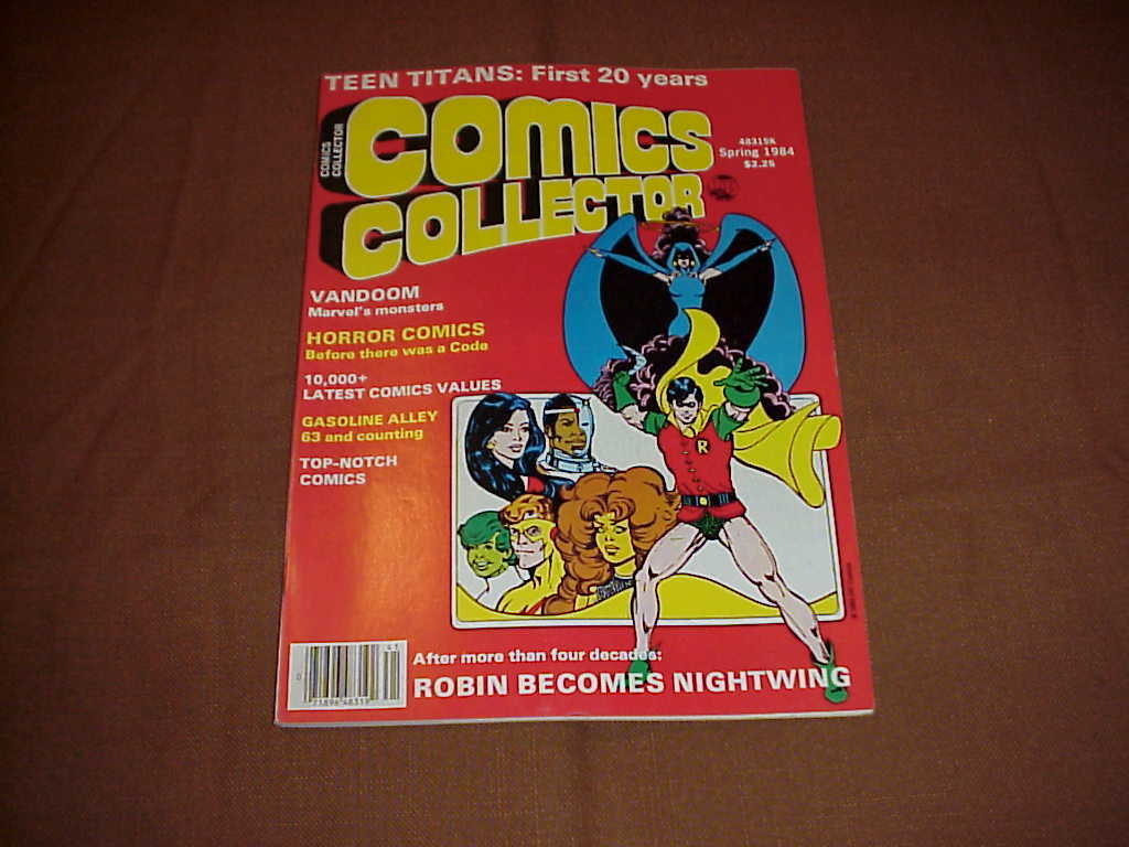 Comics Collector , Superman , Robin , LuLu