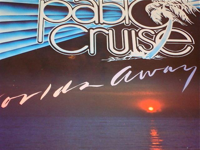 PABLO CRUISE WORLDS AWAY ORIGINAL LP STILL SEALED!