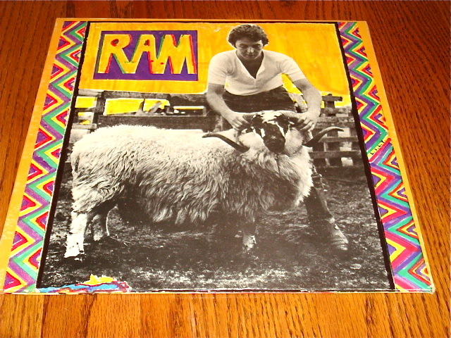 Paul McCartney RAM Original Apple LP