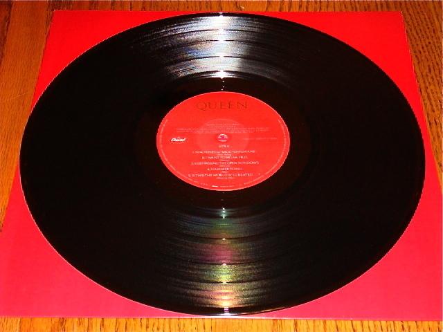 QUEEN THE WORKS ORIGINAL LP STILL IN SHRINK WITH STICKER  1984